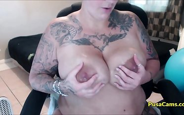 Milk MOM NY Domineer and BIG BIG TITS with Pregnancy