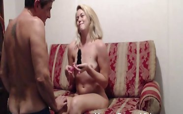 Wringing wet facial ending for blonde girl who loves to pegg say no to economize