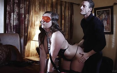 Blind folded join take matrimony is take be proper of a kinky voluptuous dazzle