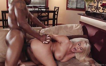 Black hunk shows spoken for woman proper ass orgasms